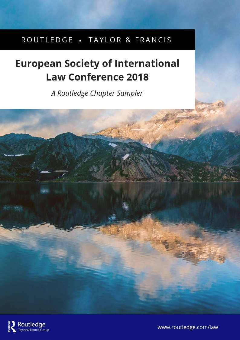 European Society of International Law Conference 2018 Chapter Sampler