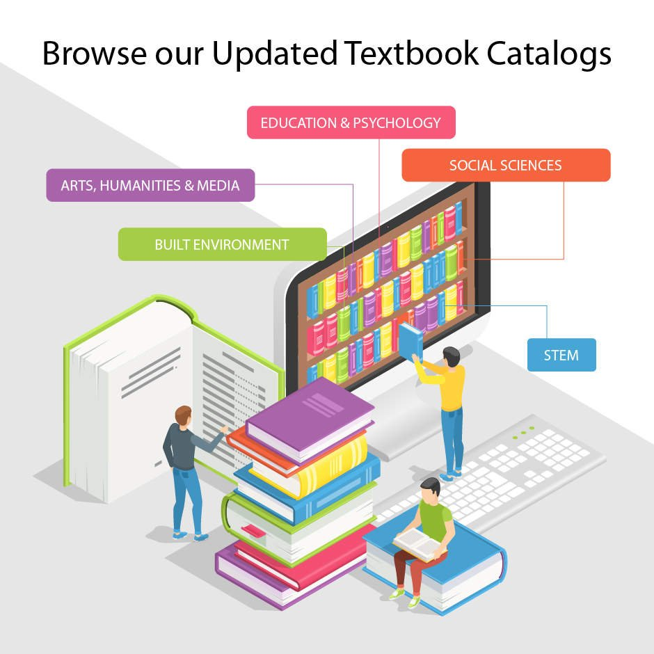 Browse our Updated Textbook Catalogs