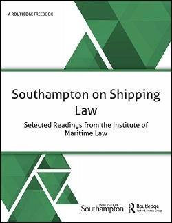 Download Southampton on Shipping Law: Selected Readings from the Institute of Maritime Law FreeBook